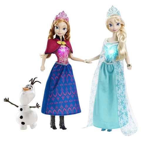 File:Frozen Anna,Elsa and Olaf Doll Giftset.jpg