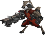 Rocket Animated Render 03