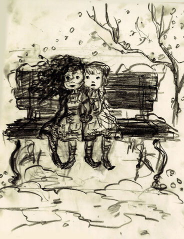 File:Young Anna and Elsa Concept Art.jpg