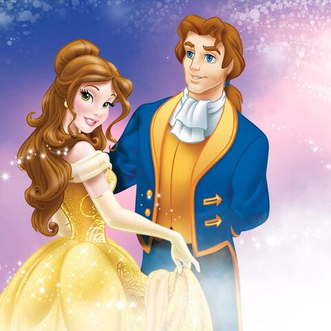 File:Disney Princess - Belle and Prince.jpg