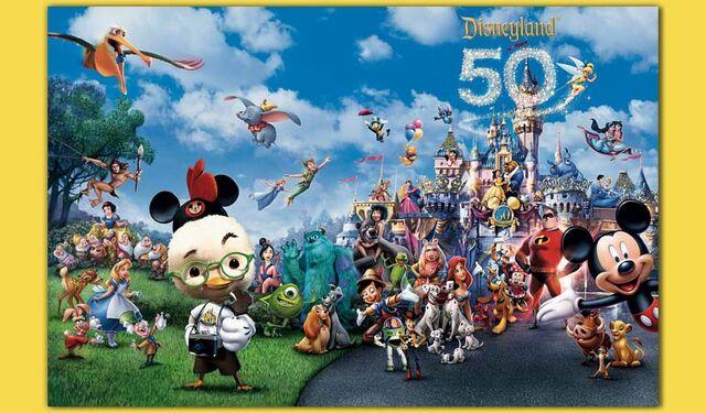 File:Disneyland 50th Anniversary 2004.jpg