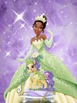 Tiana and her horse