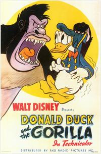 Donald Duck and the Gorilla