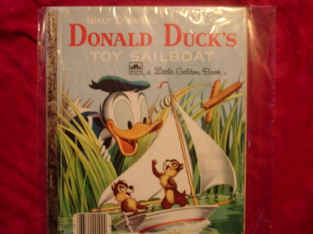 File:Donald Duck's Toy Sailboat Original.jpg