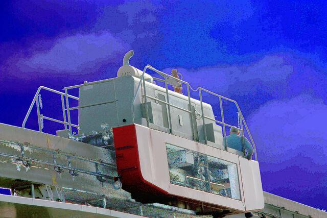File:Maintenance Tractor, Disneyland® Monorail System, Anaheim, California, enhanced.jpg