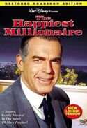 The Happiest Millionaire DVD Cover