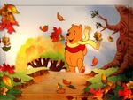 Wallpaper winnie the pooh and friends