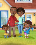 Doc mcstuffins family
