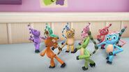 Lemurs dancing