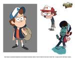 Dipper Concept Art 1