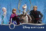 Frozen Cast Disney Gift Card