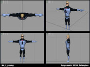 Incredibles Game Concept - Mr. Incredible young