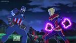 Captain Marvel n Captain America AUR 1