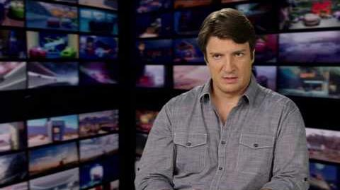 "Cars 3 ""Sterling"" Nathan Fillion Interview"