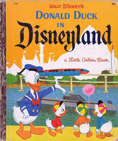 File:Donald duck in disneyland.jpg