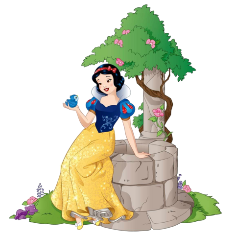 File:Snow White and little bird.png