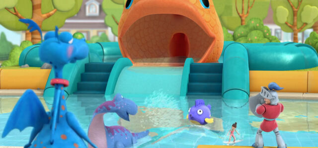 File:Stuffy, sir kirby, bronty, squeakers and surfer girl playing in the pool.jpg