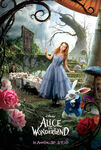 Tim Burton's Alice in Wonderland Poster 01