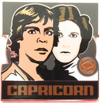 Star Wars - Zodiac Mystery Collection - Capricorn Luke Skywalker and Princess Leia ONLY
