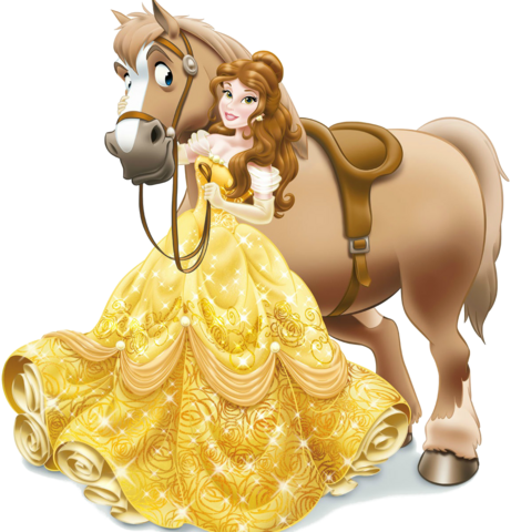 File:Belle with horse.png