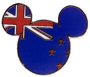 Mickey Ears - New Zealand Flag