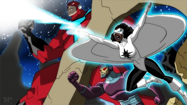File:Antman,Captain marvel,Robot man.jpg