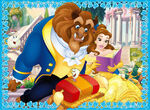 Belle is reading a book