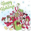 Mickey and gang happy holidays