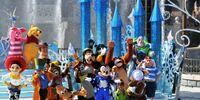 "Mickey presents: ""Happy Anniversary Disneyland Paris"""