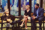 Miss Piggy on Live with Kelly and Michael