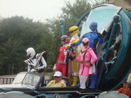 Power Rangers at Disney 2008
