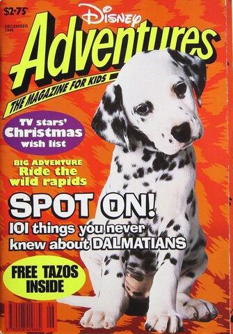 File:Disney Adventures Magazine australian cover December 1996 Dalmatians.jpg
