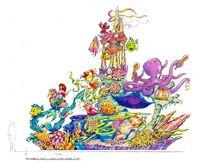 HKDL little mermaid unit 2005
