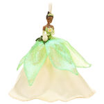 2010 Disney Store Tiana Winter Christmas Ornament
