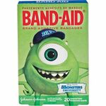 Monsters University Band Aids 2