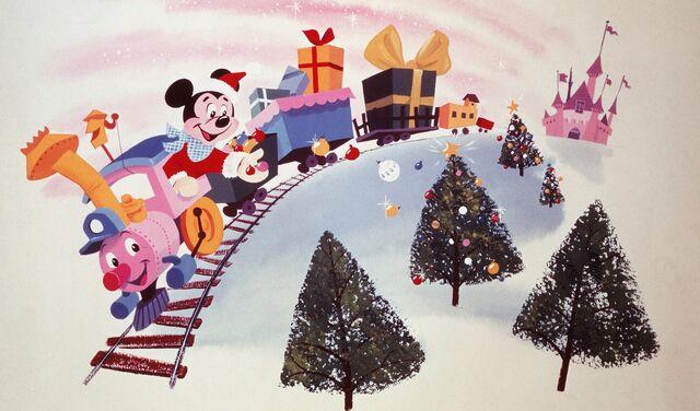 File:Santa mickey on casey jr.jpg