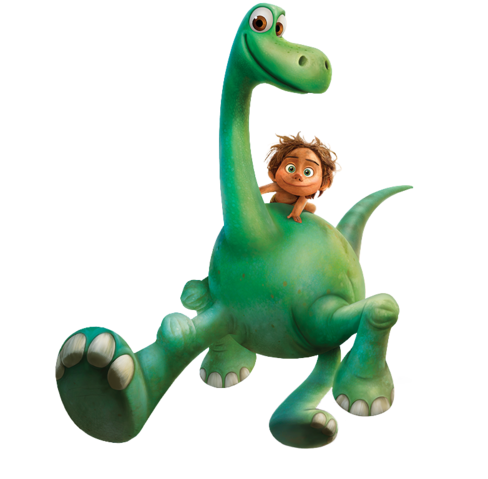 File:The Good Dinosaur Spot and Arlo Render.png