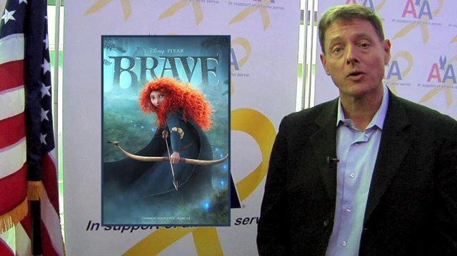 American Airlines along with John Ratzenberger and Disney Pixar present a special screening of Disney Pixar's Brave