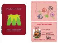 Passport pin piggy