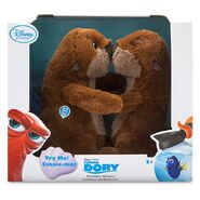 Finding Dory Kissing Otters Plush