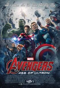 Avengers AOU Poster