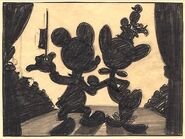 Disney's Mickey Mouse - The Nifty Nineties - Storyboard - 2 - Detail
