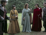 Once Upon a Time - 5x07 - Nimue - Publicity Image - Hook, Snow, Zelena, Regina and Robin