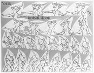Robin Hood Model sheet 2