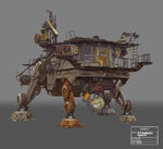 AT-TE Customised Concept Art 02