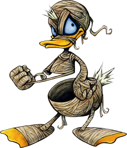 File:Donald (Mummy Form) (Art).png