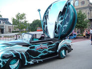 The Power Rangers Car