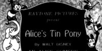 Alice's Tin Pony