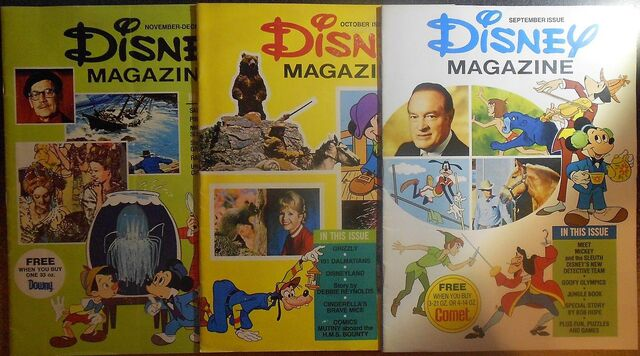 File:Disney magazine september october november december 1976 issues.jpg
