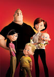The Incredibles - Family Poster
